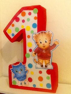 Daniel tiger pinata. Inspired. Daniel tiger piñata. by aldimyshop