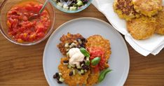 Mexican Street Corn Fritters | TVNZ OnDemand Mexican Corn, Mexican Street Corn, Corn Fritters, Food N, I Foods, Brunch, Easy Meals, Vegetarian, Tasty