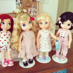Dolls Clothes / Disney Animator Dolls Ariel, Aurora, Cinderella and Snow White