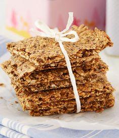 Du kan nemt bage dit eget sunde og lækre knækbrød - også til glutenallergikere