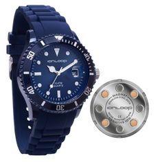 Ion< Time is America's only sport watch with Negative Ions and Magnet disc's embedded in the stainless steel back plate.