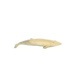 Homart Carved Wood Whale - Set Of 2.