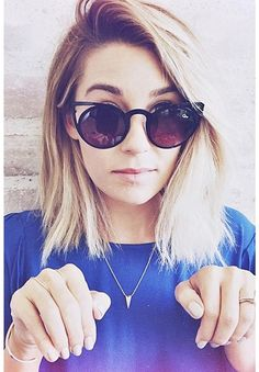 Lauren Conrad wearing a chic pair of Quay Invaders in black. Get a pair on ShopStyle
