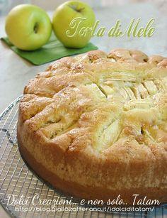 Italian Desserts, Vegan Desserts, Delicious Desserts, Dessert Recipes, Apple Pie Recipes, Sweet Recipes, Apple Torte, Apple Cakes, Apple Deserts