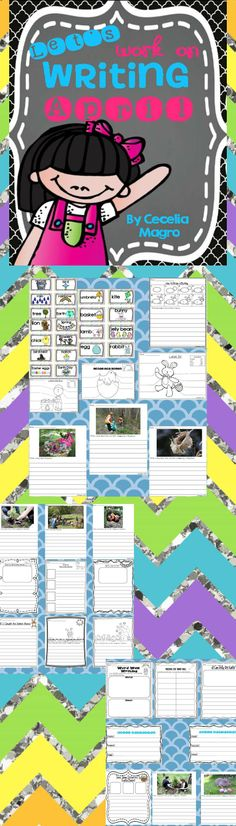 http://www.teacherspayteachers.com/Product/Lets-Work-on-Writing-April-1152715