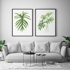 Watercolour Leaf Art, Botanical Art Print, Minimal Wall Art, Watercolour Plant, Tropical Leaf Art, Modern Art Print, Plant Art Print