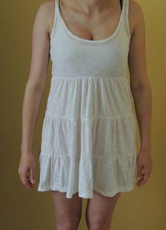 Kup mój przedmiot na #Vinted http://www.vinted.pl/kobiety/krotkie-sukienki/9656628-sukienka-z-falbankami-biala-hm