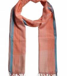 Buy MULTICOLOR  CHECKS COTTON SCARF scarf online