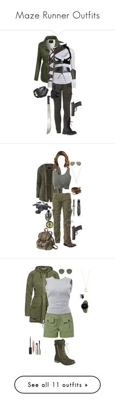 """Maze Runner Outfits"" by gone-girl ❤ liked on Polyvore featuring MazeRunner, theglade, LE3NO, Liebeskind, Rick Owens, H&M, Alaïa, Pentax, Dorothy Perkins and Superdry"