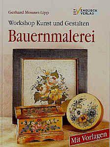 Bauernmalerei - Dekorative Malerei, Malanleitung auf DVD, CD und Malbücher