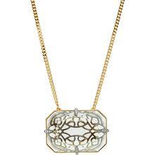 Swarovski Gold-Plated Crystal Pendant Necklace