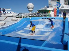 royal caribbean cruise Liberty of the Seas Flowrider may 2015