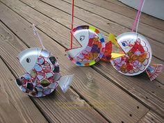"""""""fishing"""" fish craft /preschool?"""