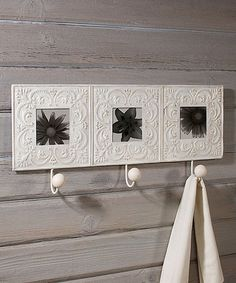 Look at this #zulilyfind! Tile Photo Frame Wall Hook  -looks like a Magnolia Mom find #zulilyfinds http://www.zulily.com/invite/WCG88394