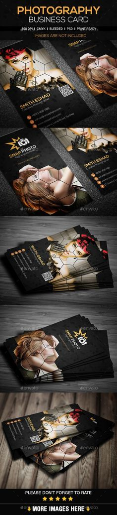 Photography Business Card Template #design #print Download: http://graphicriver.net/item/photography-business-card/11293992?ref=ksioks