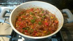 Hongaarse goulash met spekjes @ http://allrecipes.nl