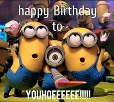 25 Funny Minions Happy Birthday Quotes #Minions #Happy Birthday