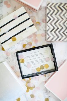 Keepsake wedding box: Read More on SMP: http://www.stylemepretty.com/2017/01/20/smp-favorite-find-boombox/