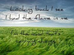 Christina Perri: Burning Gold - 'Looking back, I see I had the flame in me. I'm the wind that's carrying change.'