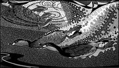 Amazingly detailed & patterned wood engravings by Colin See-Paynton