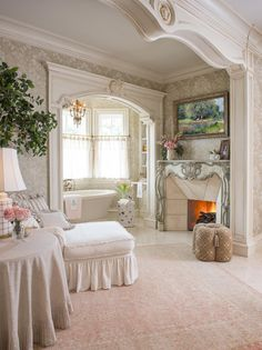 9 Delightful Shabby Chic Interior Design Ideas Home Decorating Ideas For those who want to bring a charming and elegant look into their homes, shabby chic interior design is the right choice. This style of interior desi. Shabby Chic Interiors, Shabby Chic Decor, Arquitectura Wallpaper, Interior Architecture, Interior Design, Design Interiors, Dream Home Design, French Decor, Fashion Room