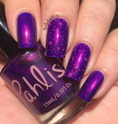 bright violet jelly with bright copper shimmer Nail Polish, Nails, Image, Fingernail Designs, Finger Nails, Ongles, Nail Polishes, Polish, Nail