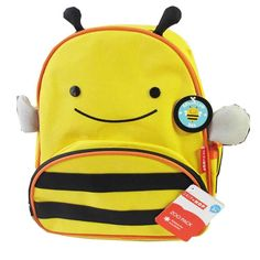 Skip Hop Zoo Little Kid and Toddler Backpack, Brooklyn Bee >>> Visit the image link more details. (This is an Amazon Affiliate link and I receive a commission for the sales)