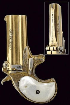 A Double Deringer, dating: last quarter of the 19th Century provenance: Spain