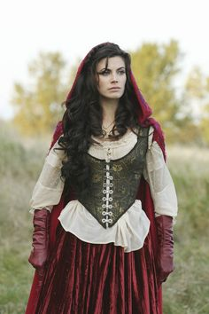 """Top 10 Movie Costumes Countdown: # 4 """"Once Upon a Time"""" Red Riding Hood."""