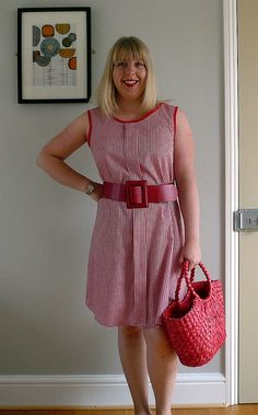 Sorbetto/Ginger dress by Handmade by Jane, via Flickr