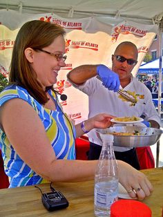 Food Lovers Taste the Happiness at Taste of Atlanta | The Bluebird Patch (Happiness Blog)