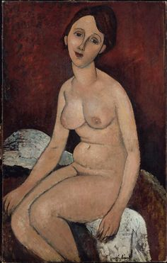 Seated nude - Amedeo Modigliani