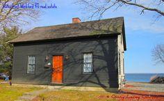 Wickford RI historic home on Wickford Harbor.