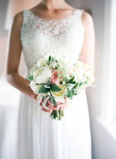 Romantic English Countryside Wedding via oncewed.com