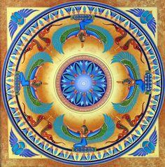 mandalamagic00034.jpg http://www.mandalamagic.com.au Isis, deusa da cura, da magia, da maternidade, do casamento e da vida e da morte