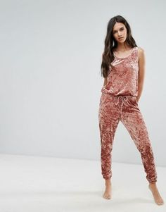 Buy Chelsea Peers Pink Crushed Velvet Onesie at ASOS. With free delivery and return options (Ts&Cs apply), online shopping has never been so easy. Get the latest trends with ASOS now. Asos, Sleep Shirt, Pink Velvet, Crushed Velvet, Pajamas Women, Best Brand, Neue Trends, Lounge Wear, Fashion Online