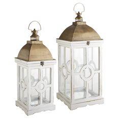 Circle Wood Lanterns   Pier 1 Imports