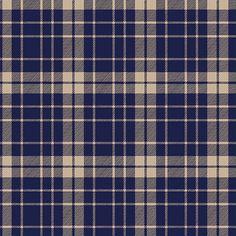 Pure Vintage School Plaid Cotton Spandex Knit Fabric