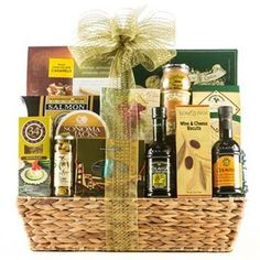 Corporate Gifts Ideas     Deluxe Corporate Gift Basket