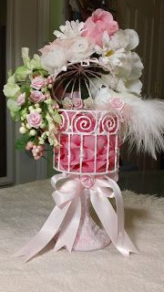 Altered Birdcage-Michael's birdcage and candlestick