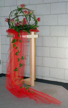 Liturgisch Bloemschikken Pinksteren 2006