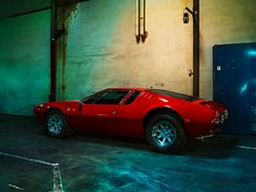 Igor Panitz Photography : Quick and dirty – The iconic Italian sports car De Tomaso Mangusta Automobile, Cars, Vehicles, Photography, Image, Design, Wheels, Behance, Sports