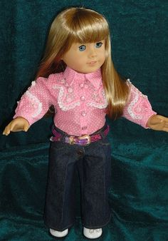 American Girl Doll clothes & 18 doll. 4 piece by designsbyorvie, $28.95