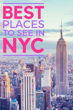 Only have a few days to explore the big apple? So many things to see, & so little time in a New York minute. We've collected the best places to see and savor while visiting NYC. B&W cookie is a given - read more of our favorite New York City hotspots. #travel