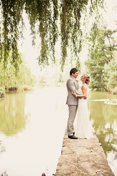 weeping willow and water..