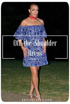 As you all have figured out by now, I'm completely obsessed with the off-the-shoulder trend. I think it's so adorable and easy to wear. On the 4th of July, I wanted something easy, comfortable, cool t