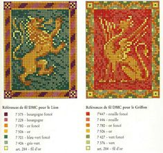 Miniature rug patterns / chart for cross stitch, crochet, knitting, knotting, beading, weaving, pixel art, micro macrame, and other crafting projects.