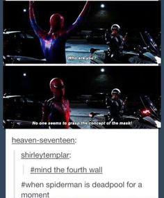 when spiderman was deadpool