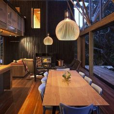 This is my modern dining room. i like to eat there because the colors make it warm and comfortable.