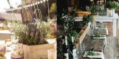 Organizzare un matrimonio rustico? Cominciate dalle piante aromatiche!